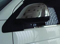 Pad on mirrors layer. Carmos Renault traffic