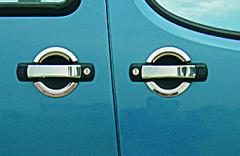 Pad on car for Fiat Doblo Omsa handles of 4 pieces