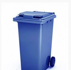 Сміттєві контейнери для ТПВ на 120 л Синій