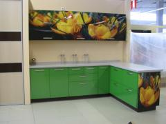 Kitchens of MDF colored