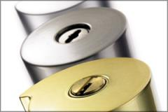 Locks are cylinder