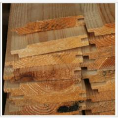 Wooden lining from pine of the 1st grade, the