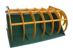 Ladle silage for front-end loader