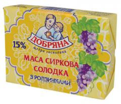 """Творожная масса сладкая ТМ """"Добряна"""" 250"""
