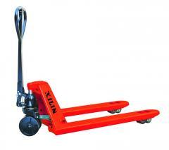 Рокла (ручная гидравлическая тележка с длинными вилами 1800 мм) Skiper SKF25PP 1800 Profi (Германия)