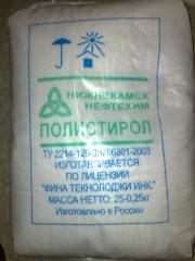 Полистирол гранулы (Ударопрочный, общ.назначе