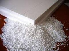 The polystyrene which is made foam granuly.al