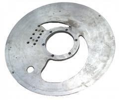 Disk distribution compressor water ring