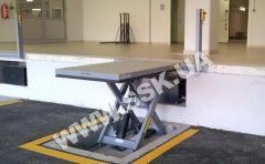 Доковый гидравлический подъемник 2500х1500мм