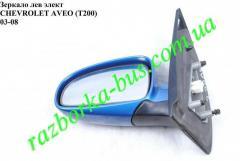 Зеркало левое электроника Chevrolet Aveo (T200)