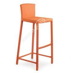 Artificial rattan furniture, bar stool