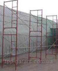 Klino-clamp bricklayer's scaffold