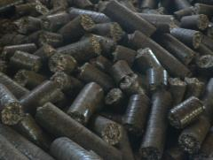 Biological fuel Briquettes from a lignin