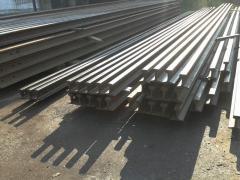 Rails railway narrow-gage