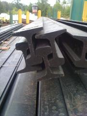 Rails for the railroad Rails of heavy type