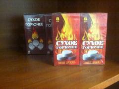 Dry alcohol, dry fuel (hexamine,