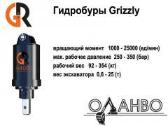 Гидравлические буры (гидробуры) GRizzly на
