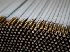 Electrodes from precious metals Welding and
