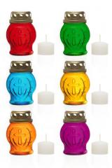 "Icon lamp glass ""P-20"" (colors in assortment)"