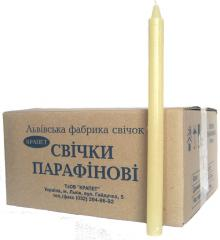 "Candles paraffin ""Economic"" No. 30, mm d20; (in a box on 100 pieces)"