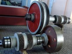 Spare parts to the metallurgical equipment