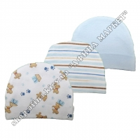 Комплект шапочек-3 шт  Luvable Friends 034530