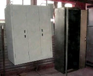 Cabinets electric frame or frameless type