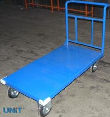 Platform load trolleys, perforated
