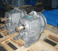 Reduction motor worm