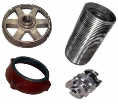 Spare parts and component parts to hoisting-and-transport equipmen
