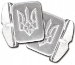 Cuff links, test Ag 925 silver, weight: 10.38grn,
