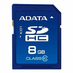Memory card of A-DATA SDHC 8Gb class 10