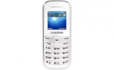 SAMSUNG GT-E1200 White mobile phone (Keystone II)