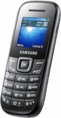 SAMSUNG GT-E1200 Black mobile phone (Keystone II)