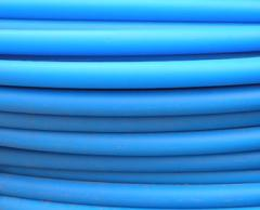 Pipes are polyethylene technical. Pipes PVC for