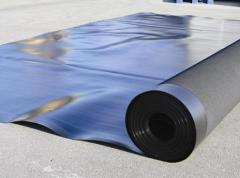 Materials waterproofing rolled