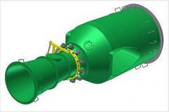Turbine povorotnolopastny (Kaplan's turbine)