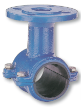 Fittings universal for pipes from polyethylene