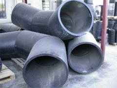 Pipes and shaped parts from plastic