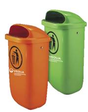 Ballot boxes, capacities for waste
