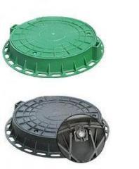 Люки полимерные (пластмассовые)  Люк резиновый