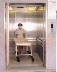 Elevators are hospital