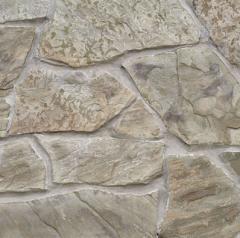 Камень песчаник из карьера серо-бурый по низкой
