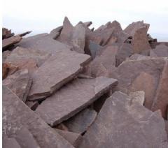 Камень песчаник из карьера красный по низкой цене