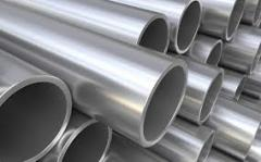 To order pipes from the alloyed steel