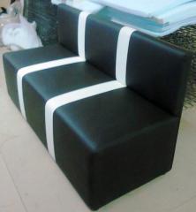 Sofa soft in a strip