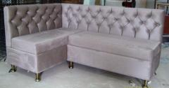 Upholstered furniture in assortmen