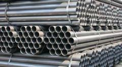 To order pipes from stainless steel