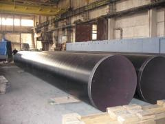 Industrial to order pipes