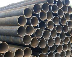 The pipe longitudinal to order